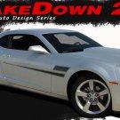 Hockey Body Stripe 3M Vinyl Graphic Shakedown Decals Chevy Camaro 2014-2015