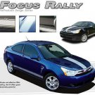 Rally Hood Lower Rocker Panel Vinyl Graphic Racing Stripe fits Ford Focus Models