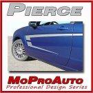 PIERCE Ford Focus Graphics Stripes Decals - 3M Pro Vinyl 2008 * 225