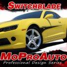 2014 Camaro Blade Hood Spike Side Spear 3M Vinyl Decals Stripes Graphic - F229