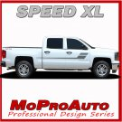 2013-2017 Chevy Silverado 1500 Pickup Truck SPEED XL Stripe Decals 3M Pro PD2364