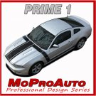 2013-2014 Ford Mustang GT V6 PRIME 1 Decals Racing Stripes 3M Graphics PDS1786
