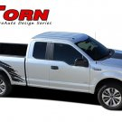 TORN Truck Bed 4X4 Mudslinger Vinyl Graphic Stripe 3M Decal 2016 2017 2018 F-150