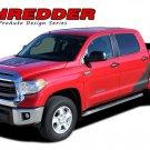 2014-2016 Shredder Tundra Crew Max Vinyl Graphics Decals Hood Truck Bed Stripes