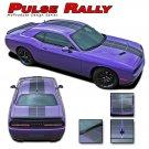 2008-2018 Challenger Racing Stripe 3M Pro Pulse Rally Hood Vinyl Graphic Decal