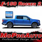 2015-2018 Ford Truck F-150 ROCKERS Vinyl Graphics Stripes 3M Decals   PDS3524