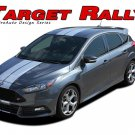 Target Rally Ford Focus Racing Stripes Decals Vinyl Graphics Kit 2016 2017 2018