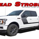 2015 2016 2017 2018 Ford F-150 Stripes Decals LEAD FOOT SE Door Vinyl Graphics