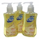 Dial Liquid Hand Soap with Moisturizer Lemon Citrus 5.5 oz 3 pack