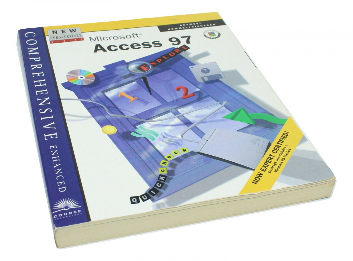 New Perspectives Series Microsoft Access 97 Comprehensive Enhanced Course Techno