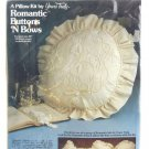 Romantic Buttons 'N Bows #1583 Vintage Yours Truly Pillow Kit