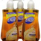 Dial Liquid Antibacterial Hand Soap Gold Total Clean Moisturizer Formula (3-pk)