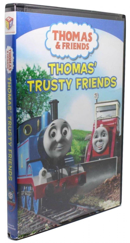 Thomas & Friends Thomas' Trusty Friends DVD 2009 Trains Construction Storm Songs