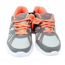 Danskin Now Girls Athletic Lightweight Running Shoe Sz 3 Gray/Coral