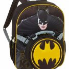 """DC Batman Dark Knight 16"""" Full Size School Backpack with Detachable Lunch Tote"""