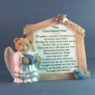 The Cherished One Nativity Series Cherished Teddies Nativity Prayer Plaque