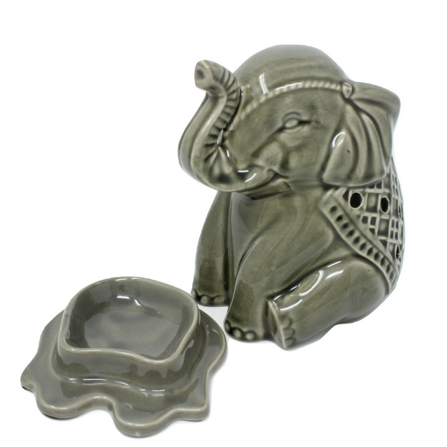 Better Homes & Gardens Wax Warmer Elephant Electric Inverted Tray