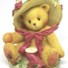 Cherished Teddies Janet 336521 You're Sweet as a Rose Friendship 1998 Avon Exclu