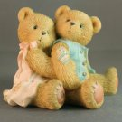 Cherished Teddies Seth Sarabeth 128015 We're Beary Good Pals Retired