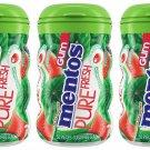 Mentos Pure Fresh Chewing Gum Sugar-free Watermelon Flavor 50 Pieces Xylitol 3pk