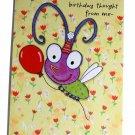 Hallmark Birthday Greeting Card w Envelope Anyone Cute Bug