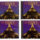 First Class French [CD-ROM] Complete Set Disc 1 thru 4 Learn to Speak French