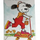 For a Special Niece Birthday Greeting Card Niece Puppy Dog Skateboard