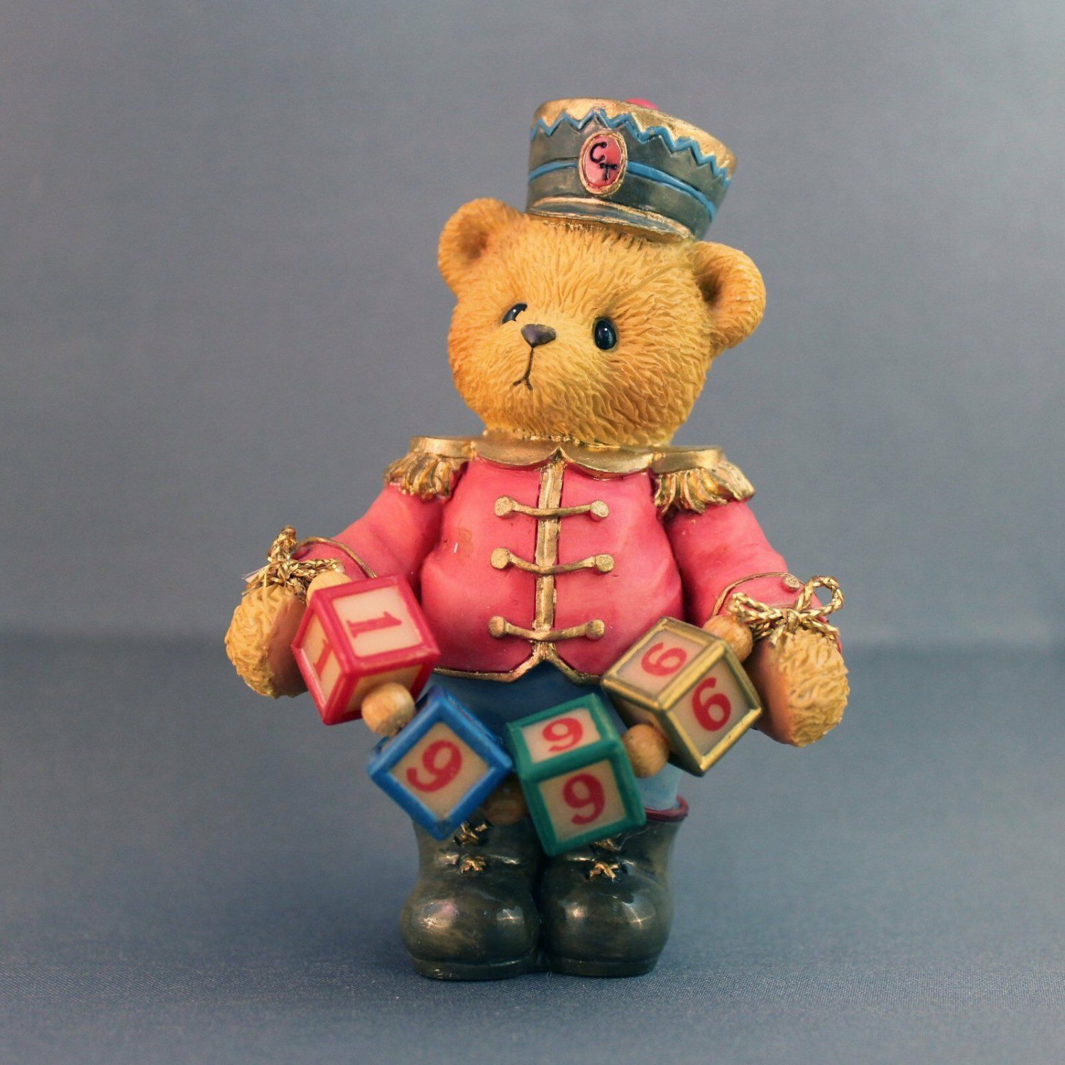Cherished Teddies Jeffrey Striking Up Another Year LE 1996 Retired