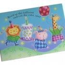 Hallmark Birthday Greeting Card Child Adult Fun Pig Giraffe Lion Cake