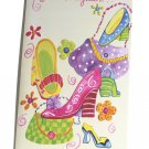 Gallant Birthday Greeting Card w Envelope Recycled Granddaughter Purse Shoes
