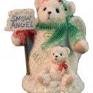 Cherished Teddies Snowbears Macie 115351 Wonders of Friendship Snowbear Angel