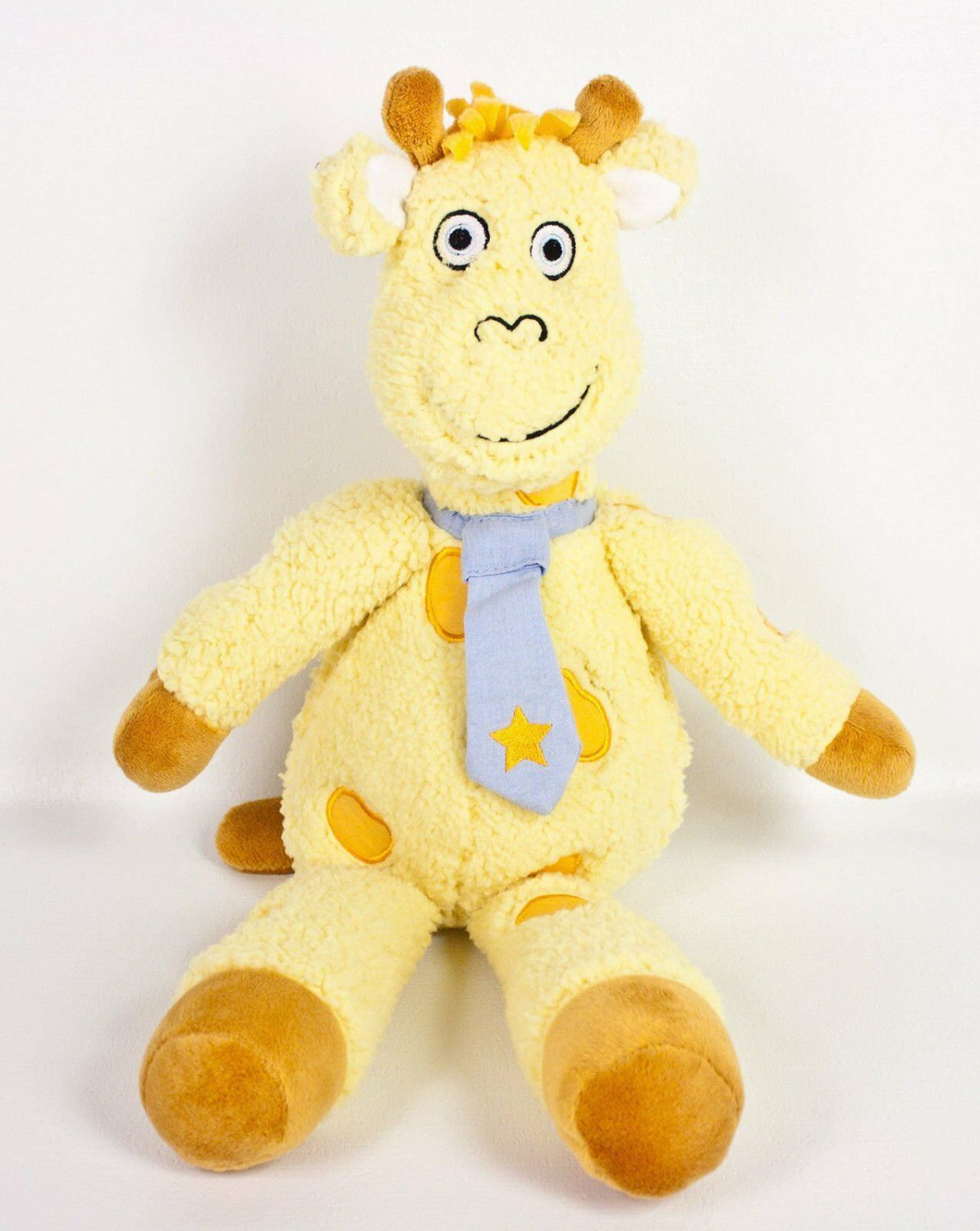 Avon Tiny Tillia Ben Giraffe Plush Cuddle Buddy Sherpa Stuffed Lovey Retired 16""