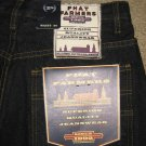 NEW Phat Farm Mens denim jeans shorts Dark Blue Size 30