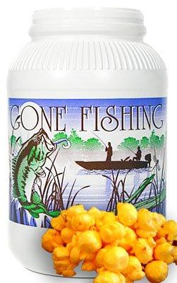 Cheddar Cheese Popcorn - 1 gal (Fishing Scene)