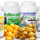 Buy 3 GET 1 FREE (1 gal canister) 2x Caramel Popcorn / 2x Cheddar Cheese Popcorn