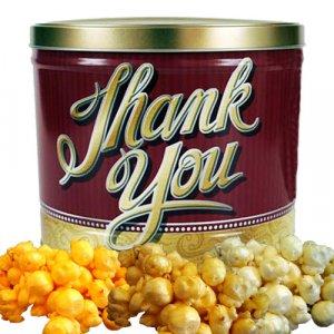 Popcorn Gift Tin - 2 gal (Thank You)