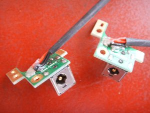 DV9000 HP Pavillion Power Jack Board