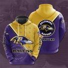 Baltimore Ravens Pullover Hoodie MEN Women and Children