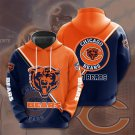 Chicago Bears Pullover Hoodie MEN Women and Children