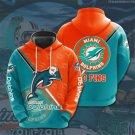 Miami Dolphins Pullover Hoodie MEN Women and Children