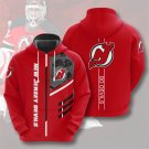 New Jersey Devils NHL Pullover Hoodie MEN Women and kids