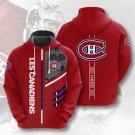 Montreal Canadiens NHL Pullover Hoodie MEN Women and kids