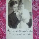 SALE** Vintage Photographic Postcard- Birth Announcement
