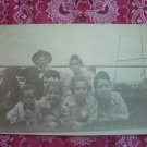 SALE** Vintage Photographic Postcard- Family