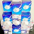 3M 8835 N95 N99 Respirator Mask • Reusable • Retail Box 5 Masks • Cool Flow Valve • FDA