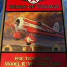 "Wings of Texaco 1930 Travel Air Model R ""Mystery Ship"" Die Cast Model/Coin Bank"