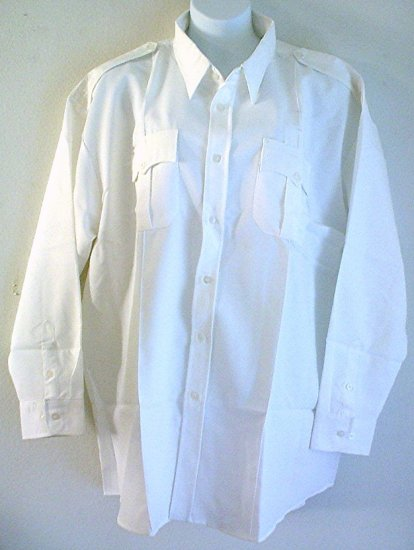 Mans work shirt cotton poly white Big 4X