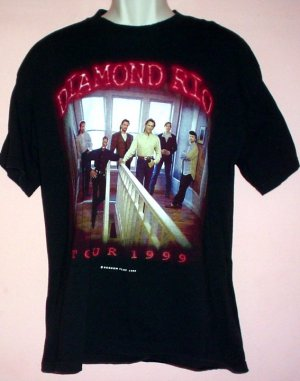 Vintage Diamond Rio 1999 tour Large L