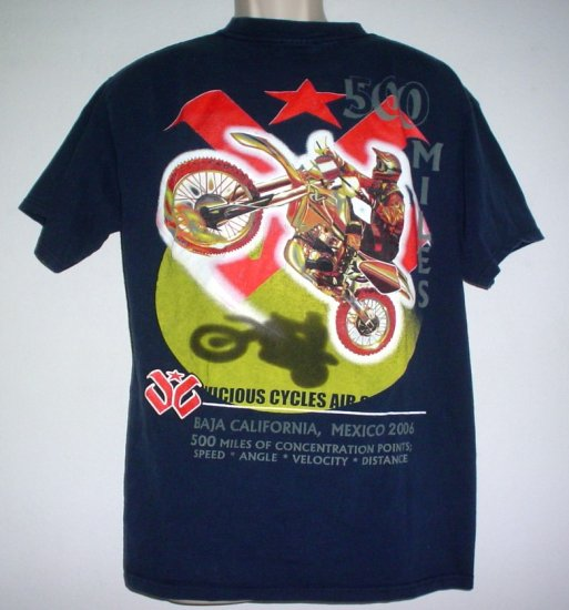 Vintage Baja 500 Race Shirt Motorcycle 2006 Large