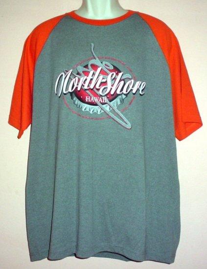 Surfing tee shirt North Shore Hawaii cotton poly 2XL